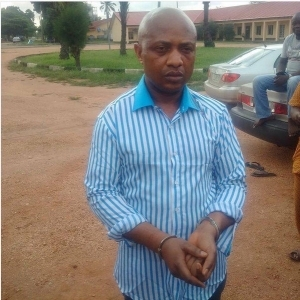 Photos of notorious kidnapper, Evans' wife and 5 children
